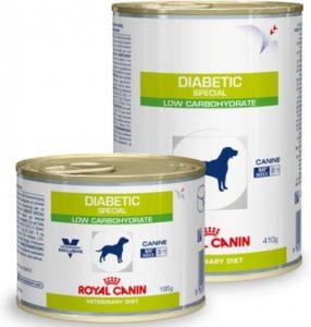 Корм для собак диабетиков