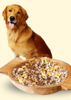 полезная каша для пса