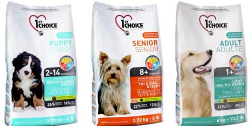 корма 1st choice для разных категорий собак